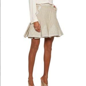 8990d1a3b Zimmermann Skirts | Tulsi Ruffledfrayed Denim Skirt | Poshmark
